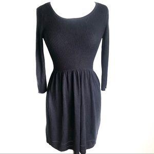 Dorothy Perkins Black Sweater Dress Size 4